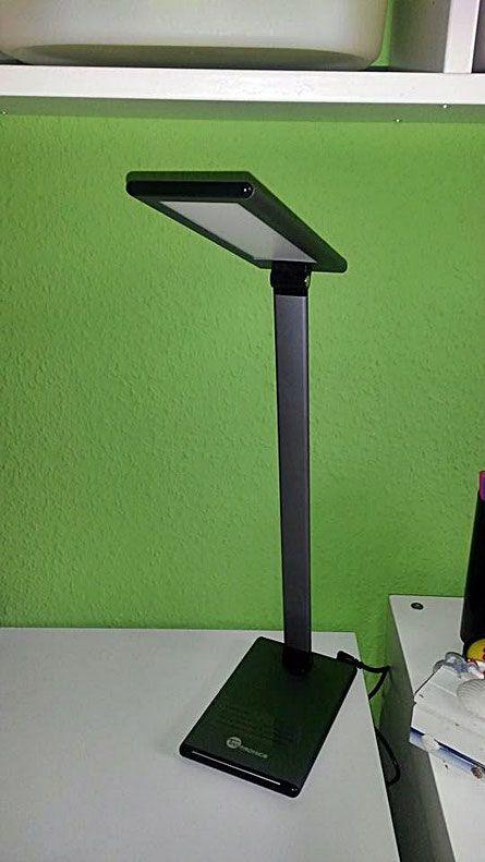 Cool Taotronics LED Schreibtischlampe Versuchskaninchen Produkttests