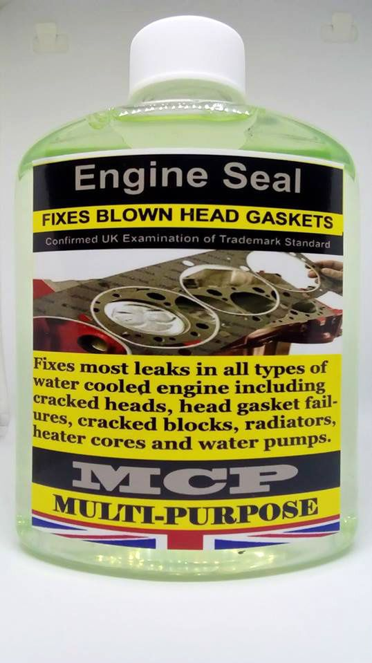 ENGINE BLOCK CYLINDER HEAD GASKETS SEALER,,MCP,,PRO-ENGINE SEALER,,ORIGINAL,16OZ #EngineSealMCP