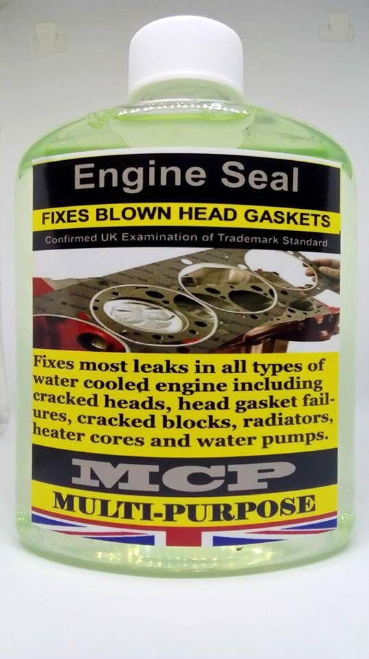 STEEL SEAL HEAD GASKET SEALER,ENGINE BLOCKS CYLINDERS HEAD GASKETS REPAIRS,,16OZ #MCP