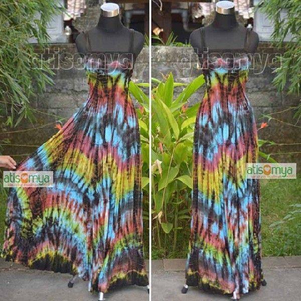 Exclusive tie dye dress EGD 002
