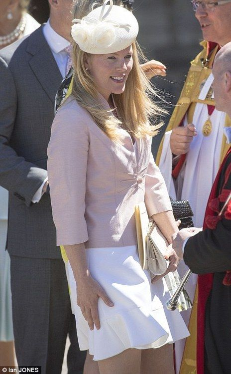 Autumn Phillips after the service at Westminster Abbey to commemorate the 60th Anniversary of the Coronation of Queen Elizabeth II
