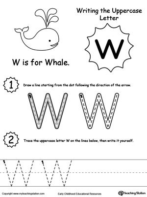 127 best homeschool letter ww images on pinterest letter w preschool themes and alphabet letters. Black Bedroom Furniture Sets. Home Design Ideas