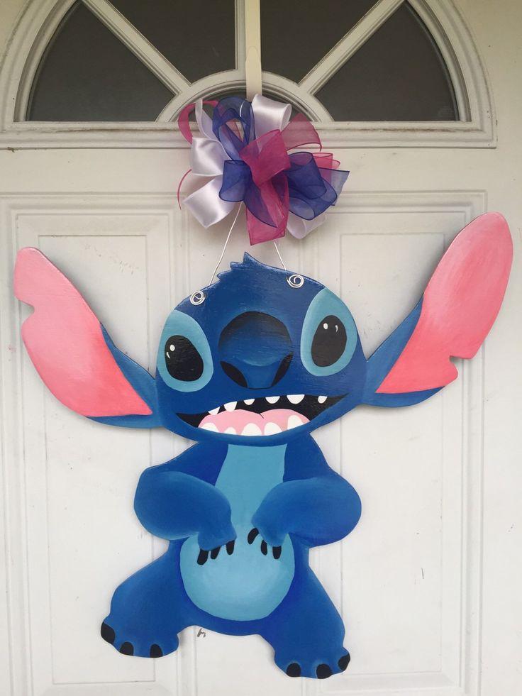 Disney's Stitch, Disney Wall Decor, Disney Wall Decals, Stitch Wall Decal, Stitch, Stitch Wall Decor by SassyHangUps on Etsy https://www.etsy.com/listing/278065524/disneys-stitch-disney-wall-decor-disney
