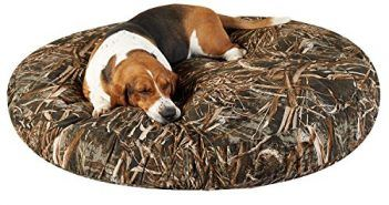 Max 5 Round Dog Bed Size: 50″ L x 50″ W Review