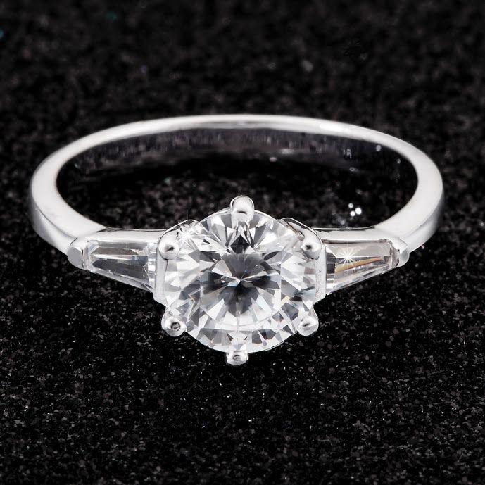Silver Cubic Zirconia Ring R399  *Prices Valid Until 25 Dec 2013  #myNWJwishlist