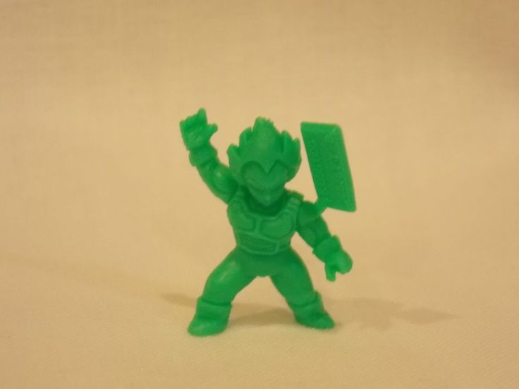 DragonBall Z KinKeshi Banpresto Japan Mini Figure SSJ Vegeta Power Level 75mil #Banpresto
