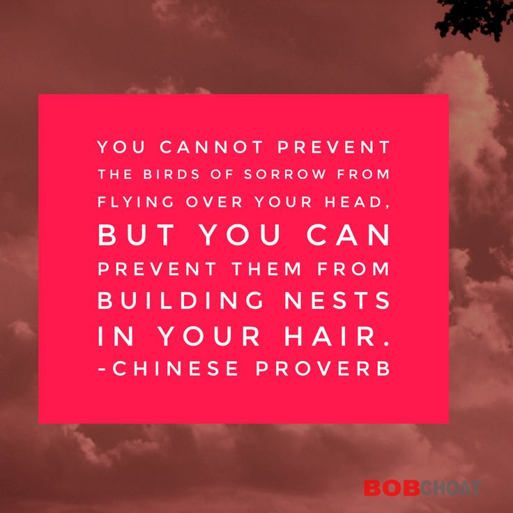 Disempowering and intrusive thoughts may come into your head, just don't allow them to settle there. #thoughts #negativethoughts #mindset #mentalstate #intrusivethoughts #negativethinking #chineseproverb #chinesephilosophy #RelationshipOCDHelp