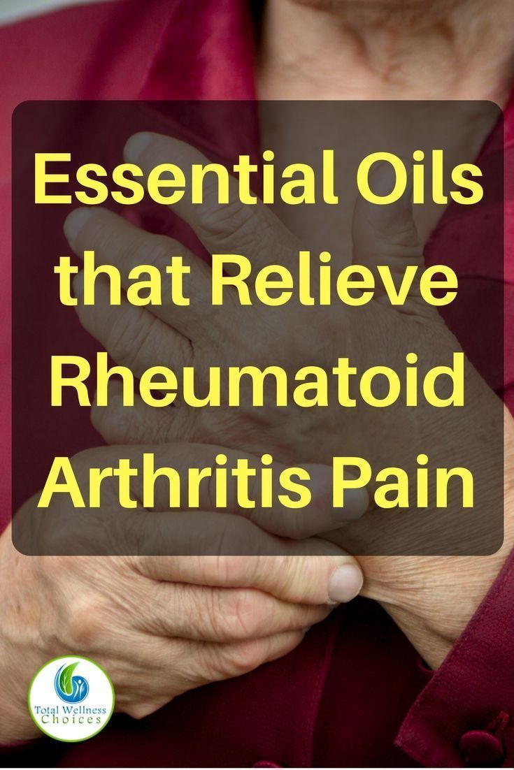 Relieve rheumatoid arthritis pain with these essential oils for arthritis pain relief!