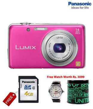 Panasonic Lumix DMC-FH6 16.1 MP Point & Shoot Camera allows the use of faster shutter speed but captures clear, blur-free images even in low lighting situation. The 5x optical zoom increases its power to 10x equivalent with the Intelligent Zoom function. http://www.snapdeal.com/product/panasonic-lumix-dmcfh6-161-mp/113129?utm_source=Fbpost_campaign=Delhi_content=273499_medium=270912_term=Prod