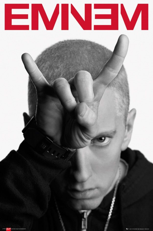 Eminem Horns Maxi Poster