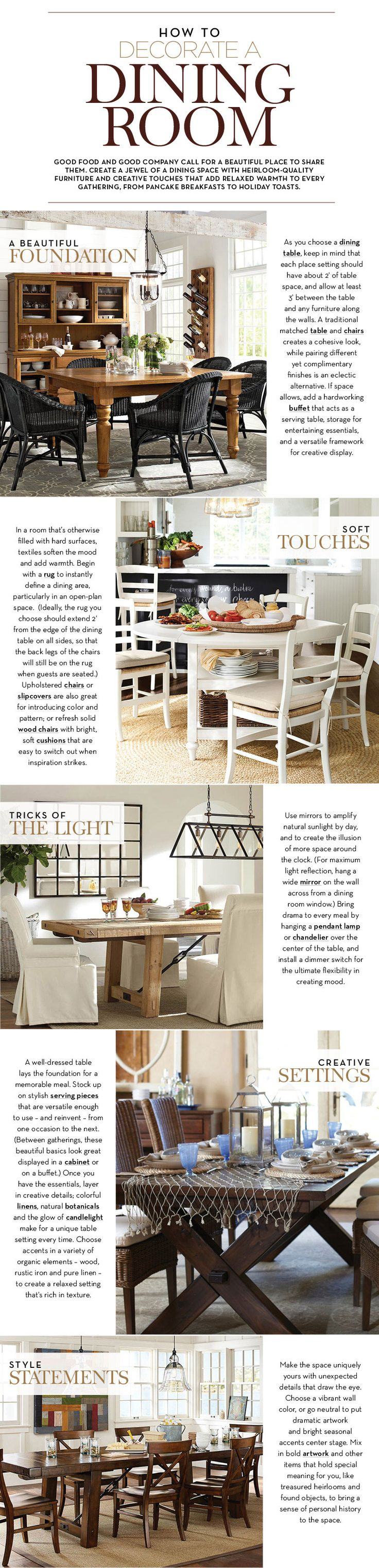 79 best Dining rooms images on Pinterest | Dining room, Dining rooms ...