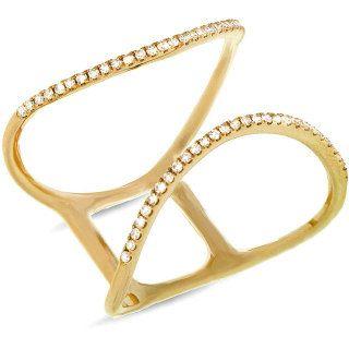 Beautiful 14k Yellow Gold Diamond Ring. 130-00081 by braxjewelers on Etsy