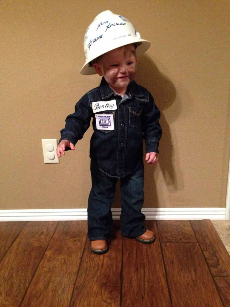 Oilfield Roughneck: Cute Halloween Outfit!