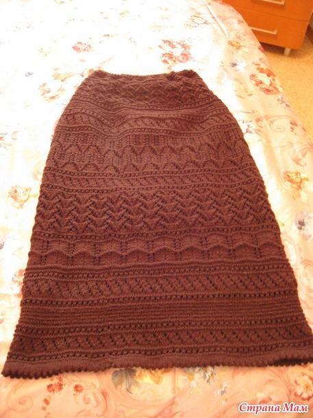 длинная юбка от Юлечки-Юляшки