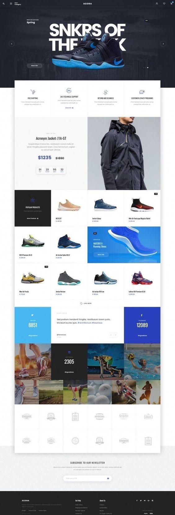 best WordPress theme for e-commerce getwebinc