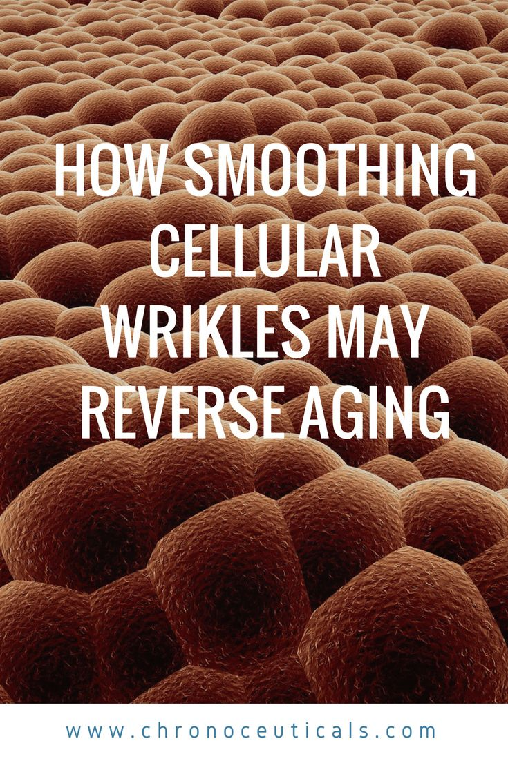 Ironing Out The Kinks Of Age How Smoothing Cellular Wrinkles May Reverse Aging With Images Reverse Aging Cellular Wrinkles