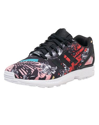 *adidas *ZX Flux sneaker *Women's's low top shoe *Padded tongue with adidas logo branding detail *Triple adidas stripes on sides *adidad Torsion sole technology for ultimate performance *Traction rubber outsol