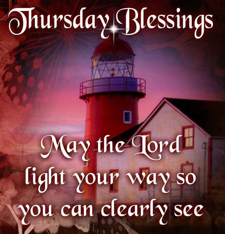 Thursdays blessings