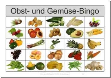 Spiel Obst Und Gemüse