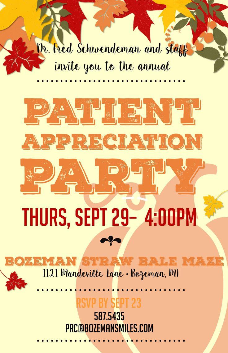 19 best Patient Appreciation Days! images on Pinterest ...