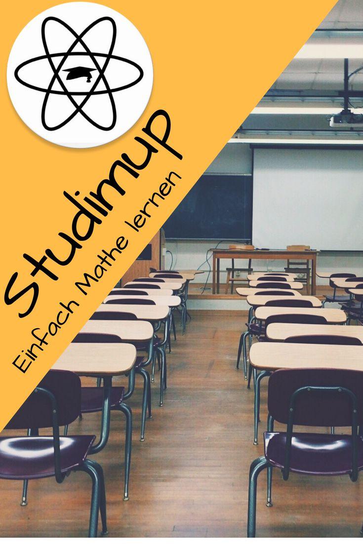 Mit Studimup könnt ihr einfach Mathe lernen, egal ob für die 5. Klasse oder für das Abitur, bei uns findet ihr alles.