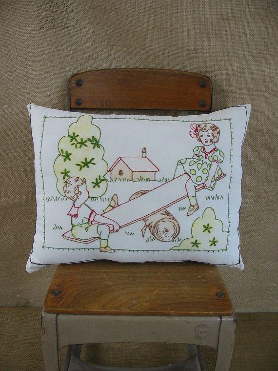 17 Best Ideas About Vintage Pillows On Pinterest Love
