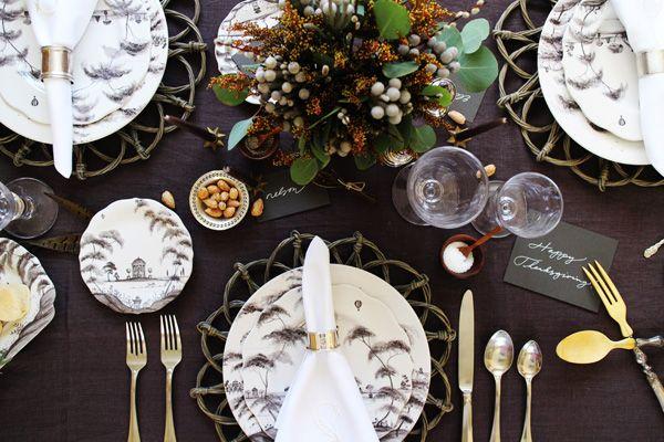17 best images about juliska country estate on pinterest for Turkey dinner table settings