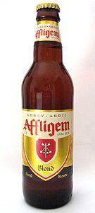 Affligem Blond, Brouwerj De Smedt, Belgium, Beligain Strong Pale Ale 6.7%ABV