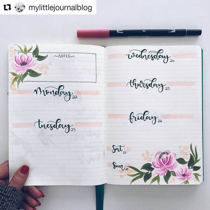 "1,759 Likes, 8 Comments - Bullet Journal Inspire (@bujoinspire) on Instagram: ""#Repost @mylittlejournalblog (@get_repost) ・・・ It,s bujo time """