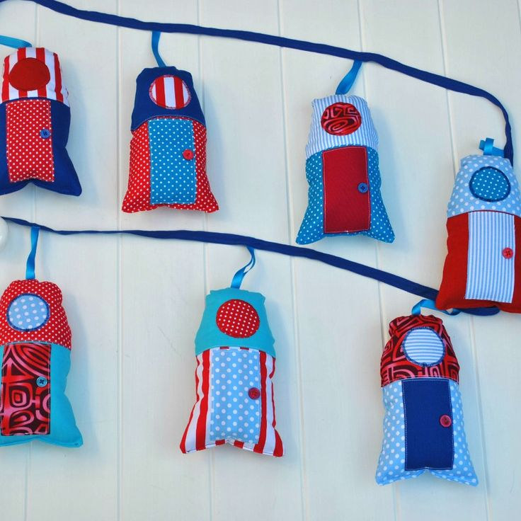 Little House garland at www.madeit.com.au/WitchingHourBags