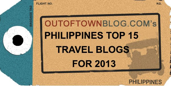 Poll Result: The 2013 Philippines Top 15 Travel Blogs - http://outoftownblog.com/poll-result-2013-philippines-top-travel-bloggers/