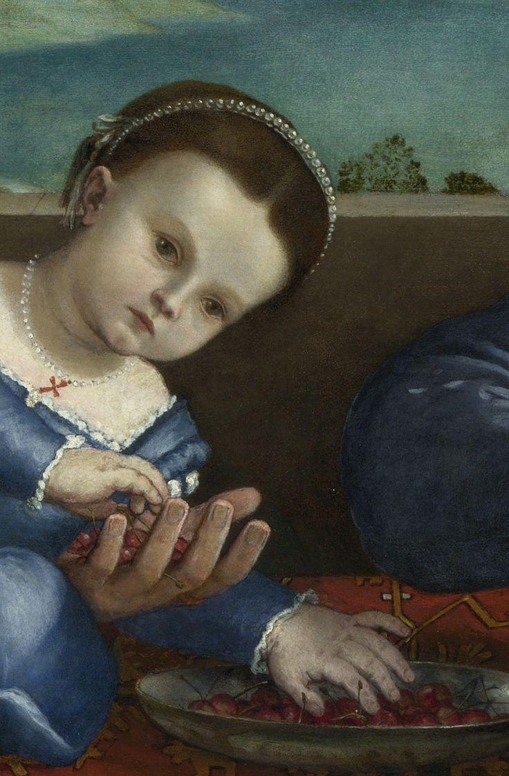 Lorenzo Lotto - Portrait of Giovanni della Volta with his Wife and Children