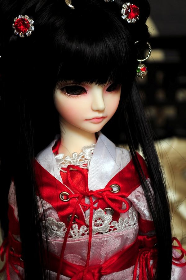 Thomas Schmuck New Only-doll Bjd Ruodie 1/4 Msd Mini Super Dollfie 43cm
