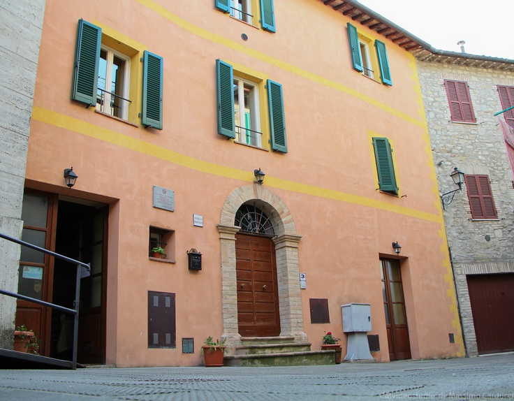 Franciscan Hostel, B located in Valfabbrica, a beautiful place near Assisi