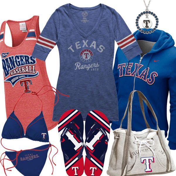 Womens Texas Rangers Fashion