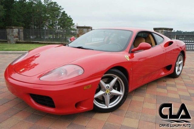 2000 Ferrari 360 Modena The Ferrari Is Equipped With All The