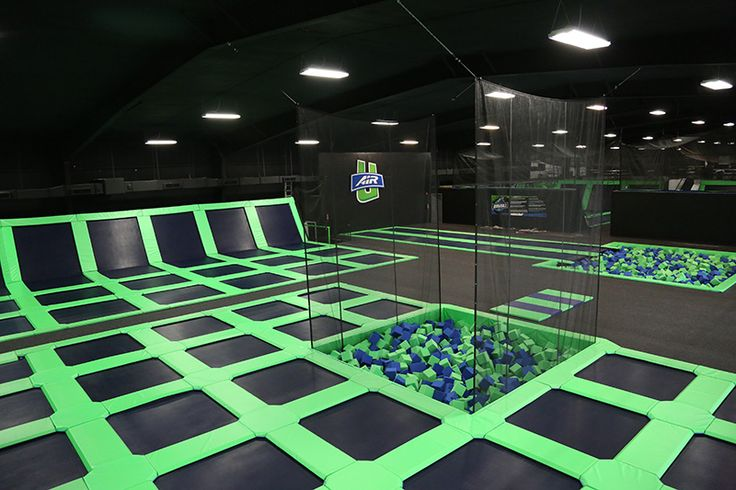 Facility - Air U Indoor Trampoline Park and Birthday Party Center in Shreveport, Louisiana