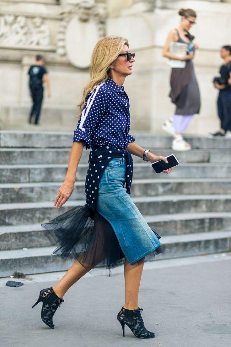 Oui Oui! Style from the Street in Paris  - HarpersBAZAAR.com