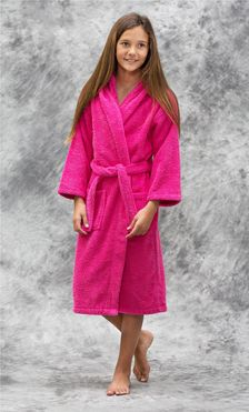 Kids Bathrobes :: Terry Kids Hooded Bathrobes - Wholesale bathrobes, Spa robes, Kids robes, Cotton robes, Spa Slippers, Wholesale Towels