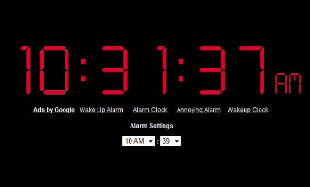 Wake Up to These 5 Free Online Alarm Clocks: Online Alarm Clock