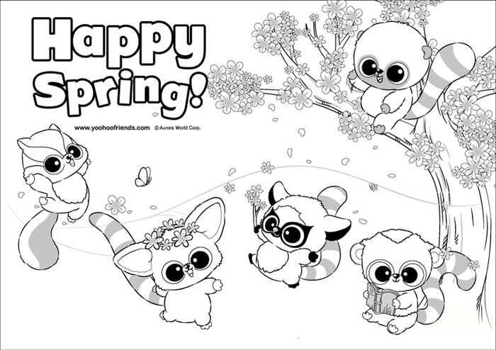 Beanie Boo Coloring Pages For Your Kids Spring Coloring Pages Coloring Pages Preschool Coloring Pages