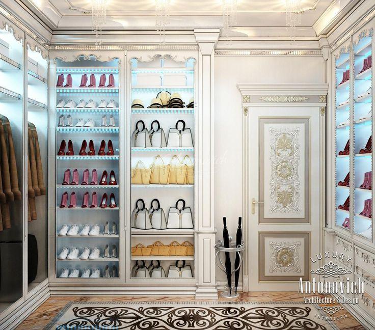 Дизайн гардеробной Абу-Даби