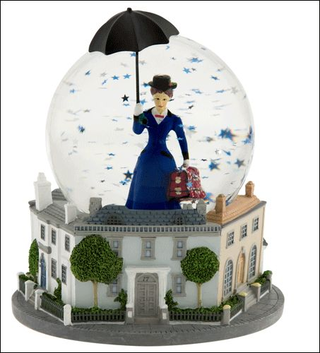 Mary Poppins the Broadway Musical - Snow Globe with Music Box $39.95