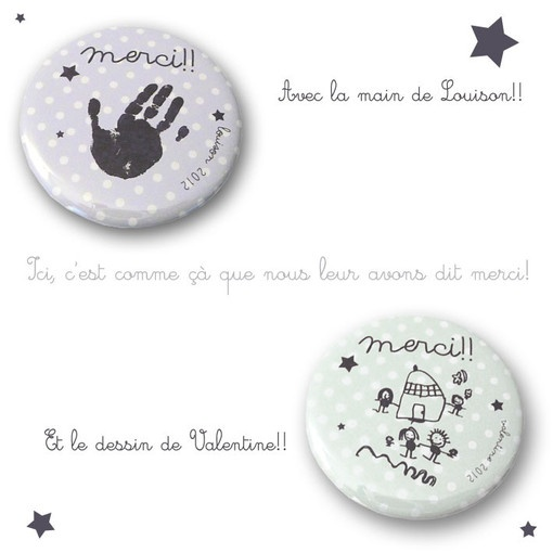 "Magnets ""merci maitresse"" sur Happybulle.com!"