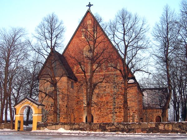 Maarian kirkko, Turku - Mary's Church (ca. 1440) is a medieval stone church, located in Turku, Finland.