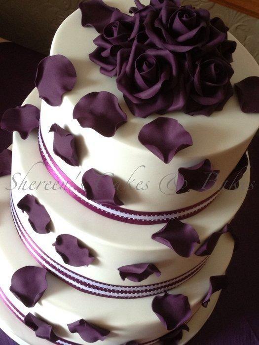 1000 Ideas About Purple Roses Wedding On Pinterest