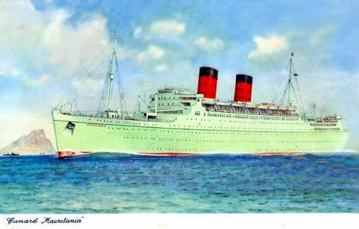 RMS Mauretania 2 - 1938 to 1965