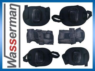 Ochraniacze, zestaw na kolana, łokcie i nadgarstki