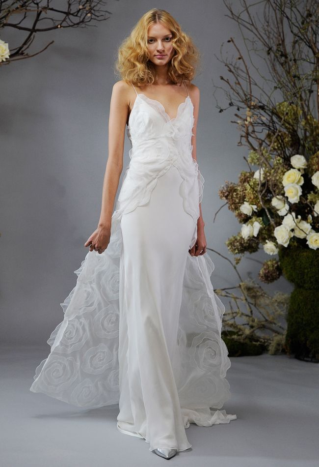 Elizabeth Fillmore Spring 2014 Wedding Dresses Get more wedding planning tips, DIY, dress ideas and a free bridal costs download GO TO: www.endingiseternity.com.