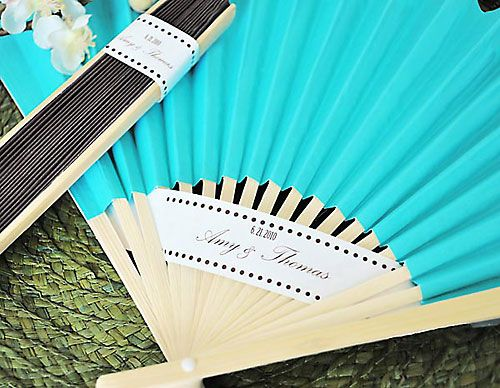for outdoor ceremony: Outdoor Wedding, Ideas, Colors Paper, Wedding Favors, Wedding Fans, Weddings, Colored Paper, Paper Fans, Hands Fans